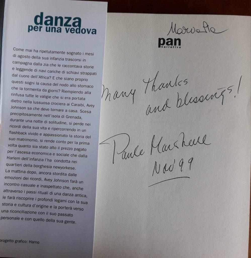 PAULE MARSHALL_DANZA PER UNA VEDOVA (2)
